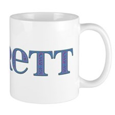 Everett Blue Glass Mug