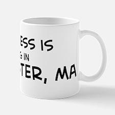 Happiness is Worcester Mug