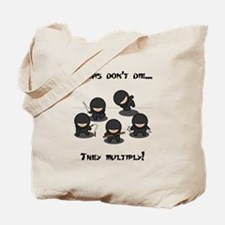 Ninjas Multiply Tote Bag