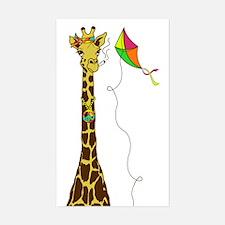 High as a Kite Sticker (Rectangle)