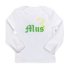 3 MUSketeers G Long Sleeve Infant T-Shirt