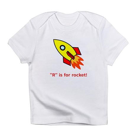 R is for Rocket Infant T-Shirt