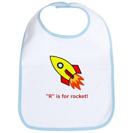 R is for Rocket Bib