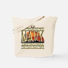 US Navy Destroyers Tin Can Sa Tote Bag
