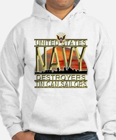 US Navy Destroyers Tin Can Sa Hoodie