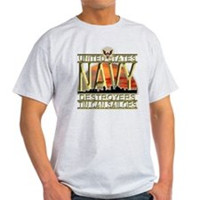 US Navy Destroyers Tin Can Sa T-Shirt