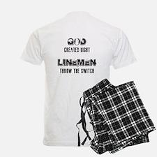 Lineman God Pajamas