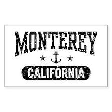 Monterey California Decal