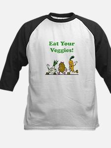 Eat Your Veggies Kids Baseball Jersey