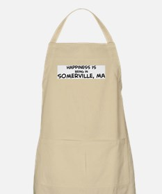 Happiness is Somerville BBQ Apron