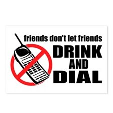 Drunk Dialing Postcards (Package of 8)