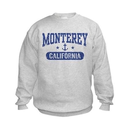 Monterey California Kids Sweatshirt