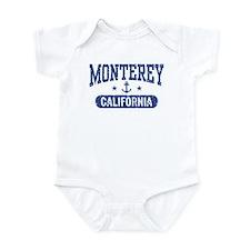 Monterey California Infant Bodysuit