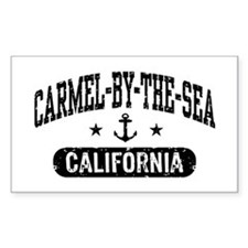 Carmel By The Sea California Decal