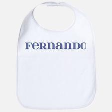 Fernando Blue Glass Bib