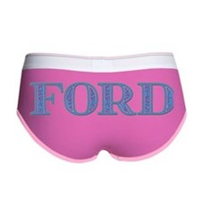 Ford Blue Glass Women's Boy Brief