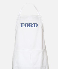 Ford Blue Glass Apron