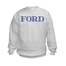 Ford Blue Glass Sweatshirt
