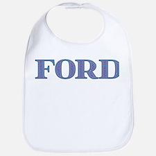 Ford Blue Glass Bib