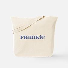 Frankie Blue Glass Tote Bag