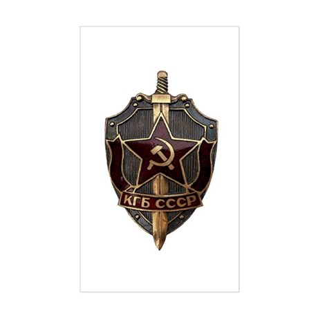 KGB Sticker (Rectangle)