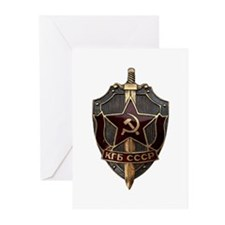 KGB Greeting Cards (Pk of 20)
