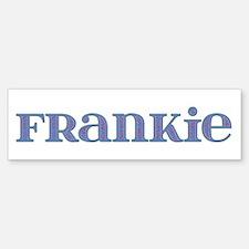 Frankie Blue Glass Bumper Bumper Bumper Sticker