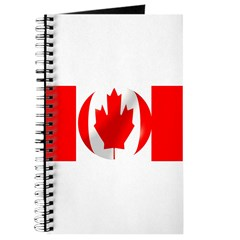 Canadian Flag With Bubble Journal