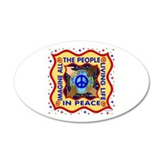 Hands of Peace Wall Decal