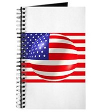 American Flag with Bubble Journal