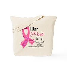 I Wear Pink DaughterinLaw Tote Bag