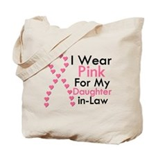 I Wear Pink Tote Bag