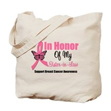 Breast Cancer Honor Tote Bag