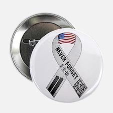 "September 11 Ribbon 2.25"" Button"