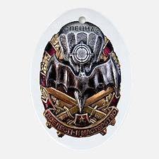 Spetsnaz SWAT Ornament (Oval)