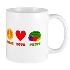 Peace Love Fruit Mug