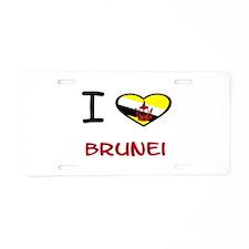 Cute Brunei Aluminum License Plate