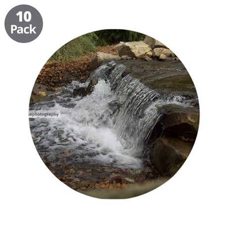 "Waterfall 3.5"" Button (10 pack)"