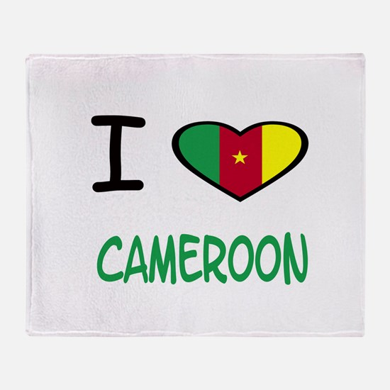 Cute Cameroon Throw Blanket