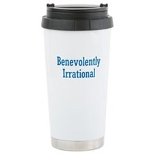 Benevolently Irrational Travel Mug