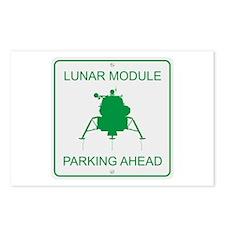 Lunar Module Parking Postcards (Package of 8)