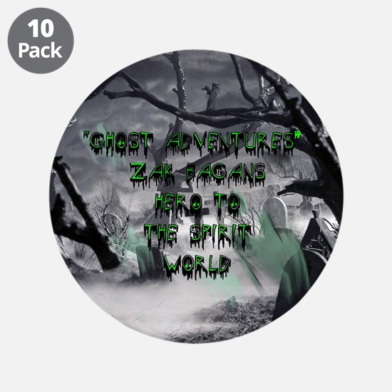 """Ghost Adventures 3.5"""" Button (10 pack)"""