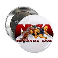 "Ninja Skin MMA Anaconda Choke 2.25"" Button (10 pac"