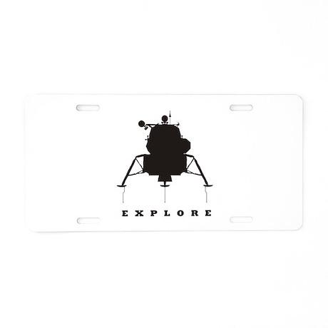 Lunar Module / Explore Aluminum License Plate