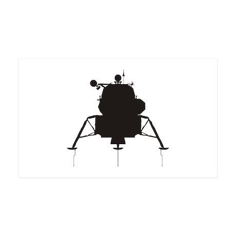 Lunar Module 38.5 x 24.5 Wall Peel