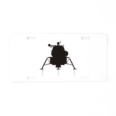 Lunar Module Aluminum License Plate