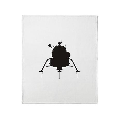 Lunar Module Throw Blanket