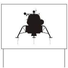 Lunar Module Yard Sign