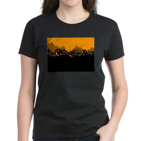 Jack-O-Lanterns Women's Dark T-Shirt