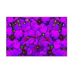 Purple Clematis Flower Posters
